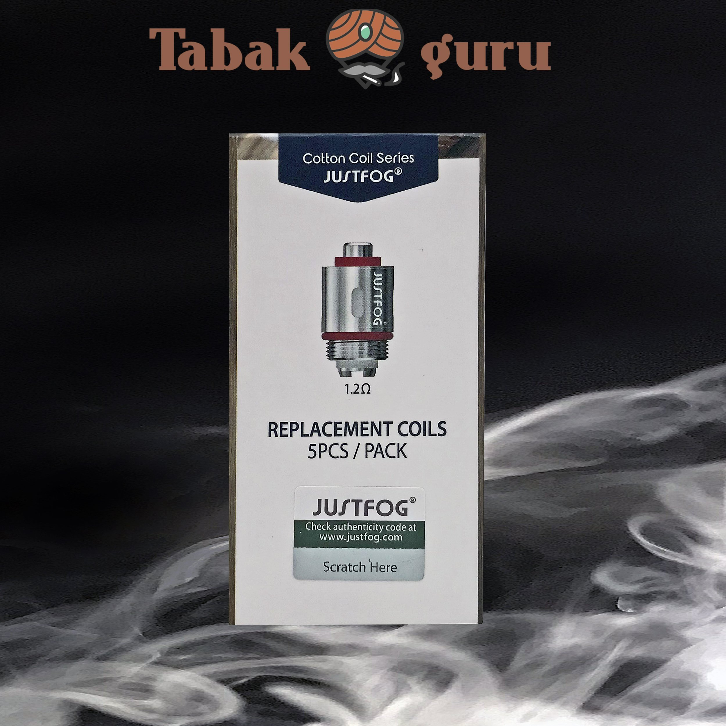 Justfog Replacement Coils 1,2 Ohm 5er Packung