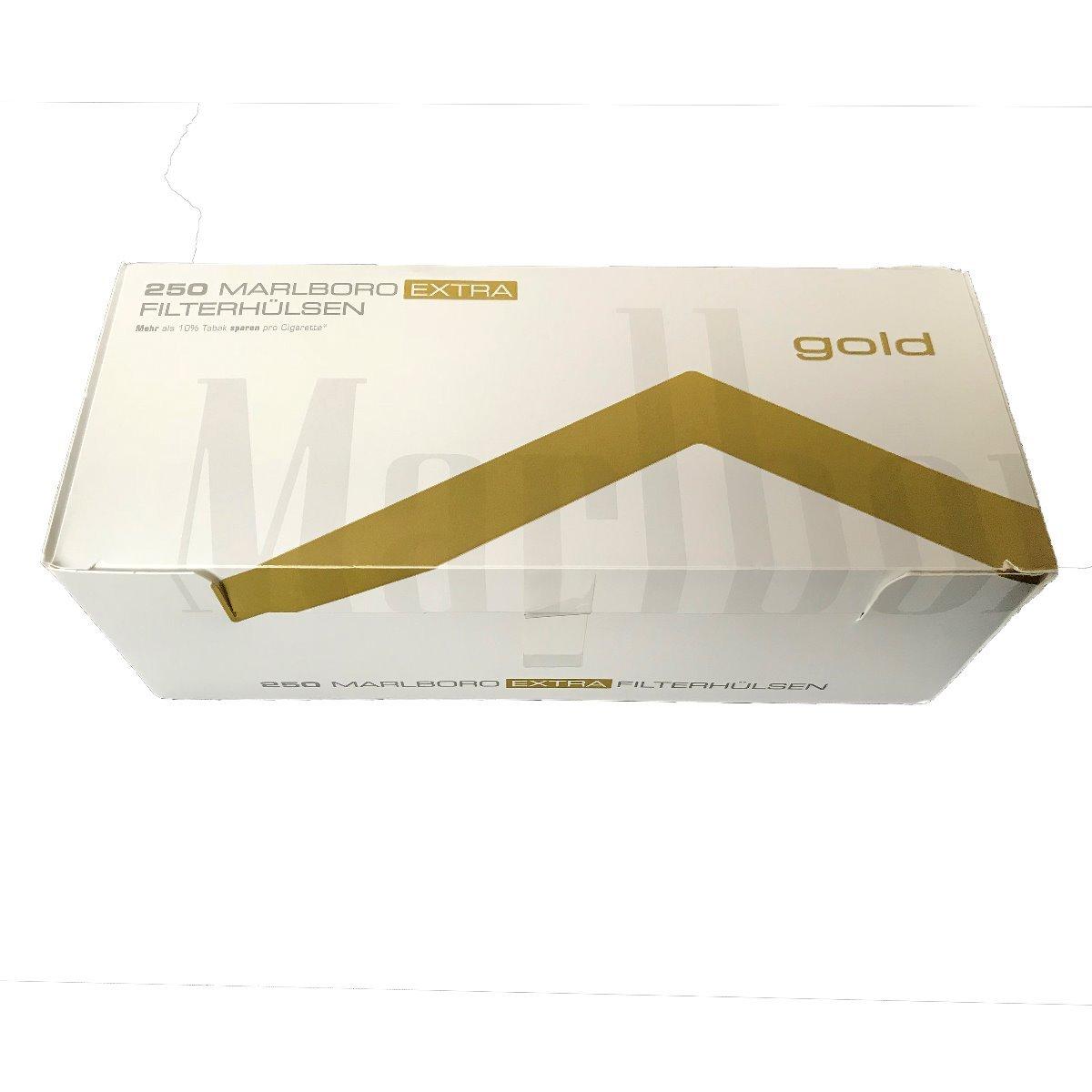 Marlboro Gold Extra Filterhülsen