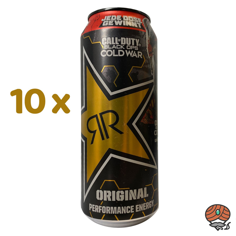 10 x Rockstar, XD Power Original, Energy Drink, 500 ml Dose