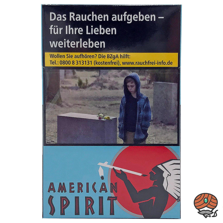 American Spirit Original Blue Zigaretten OP 20 Stück