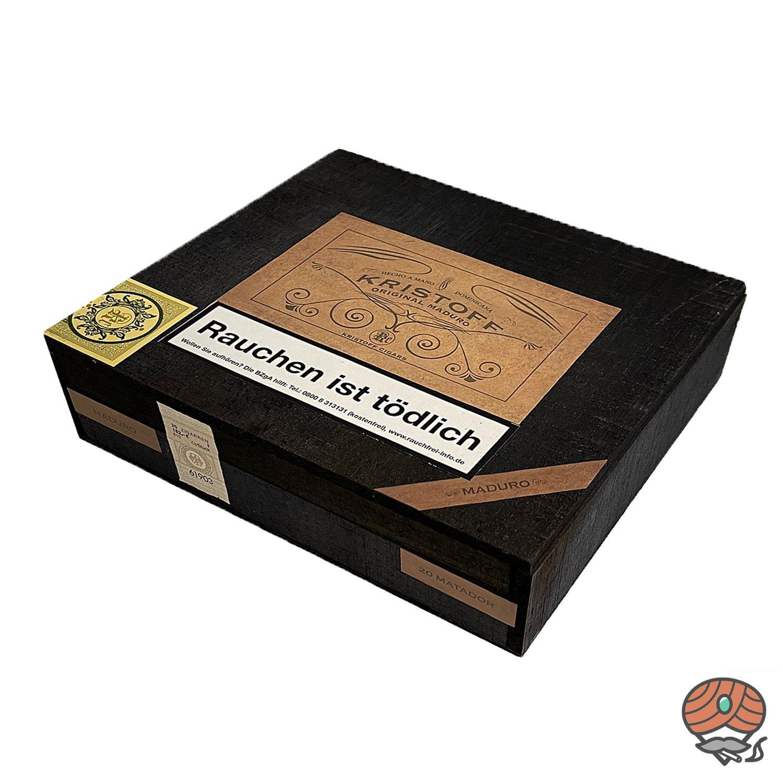 Kristoff Original Maduro Matador Zigarre Dominikanische Republik 20er Kiste