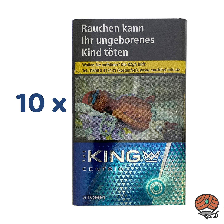 The KING CENTRIO STORM Zigaretten 1 Stange 10 x 20 Stück