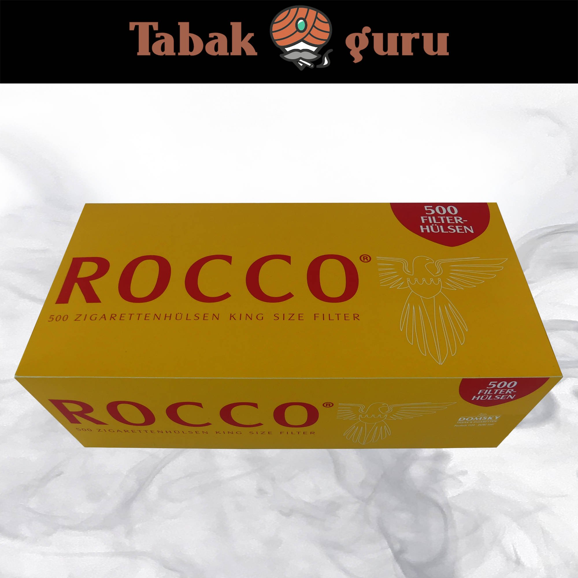 Rocco King Size Filterhülsen 500 Stück