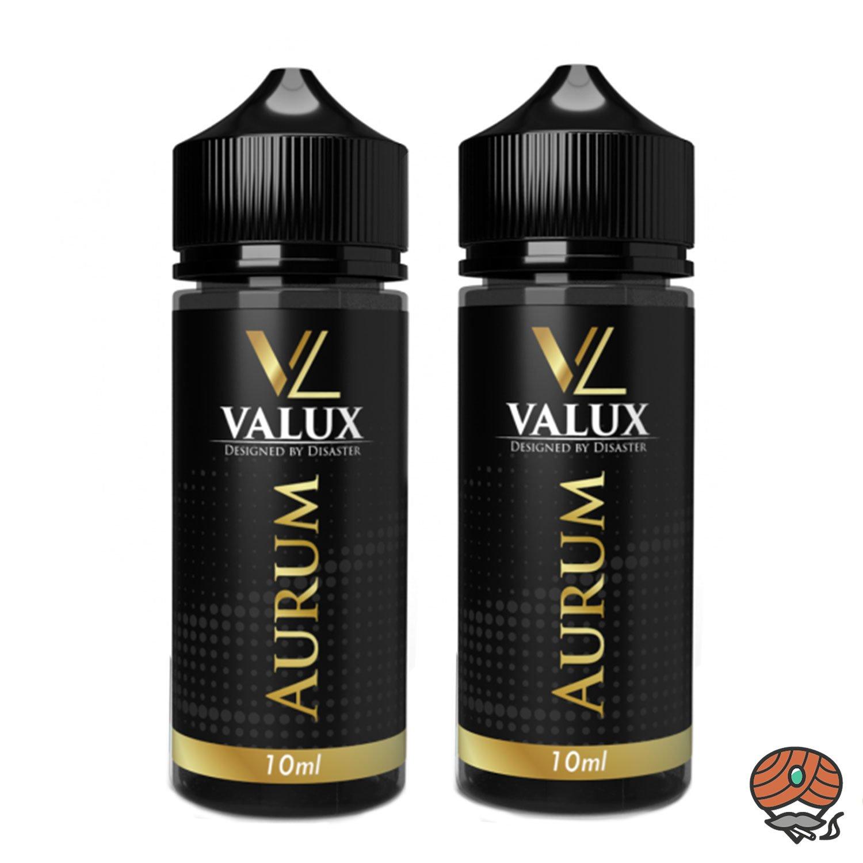 2 x Valux Aurum 10 ml Aroma + Leerflasche, Longfill