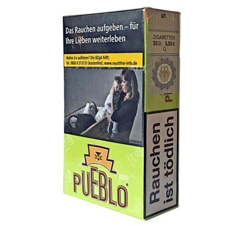 Pueblo Green Filterzigaretten ohne Zusätze 20 Stück