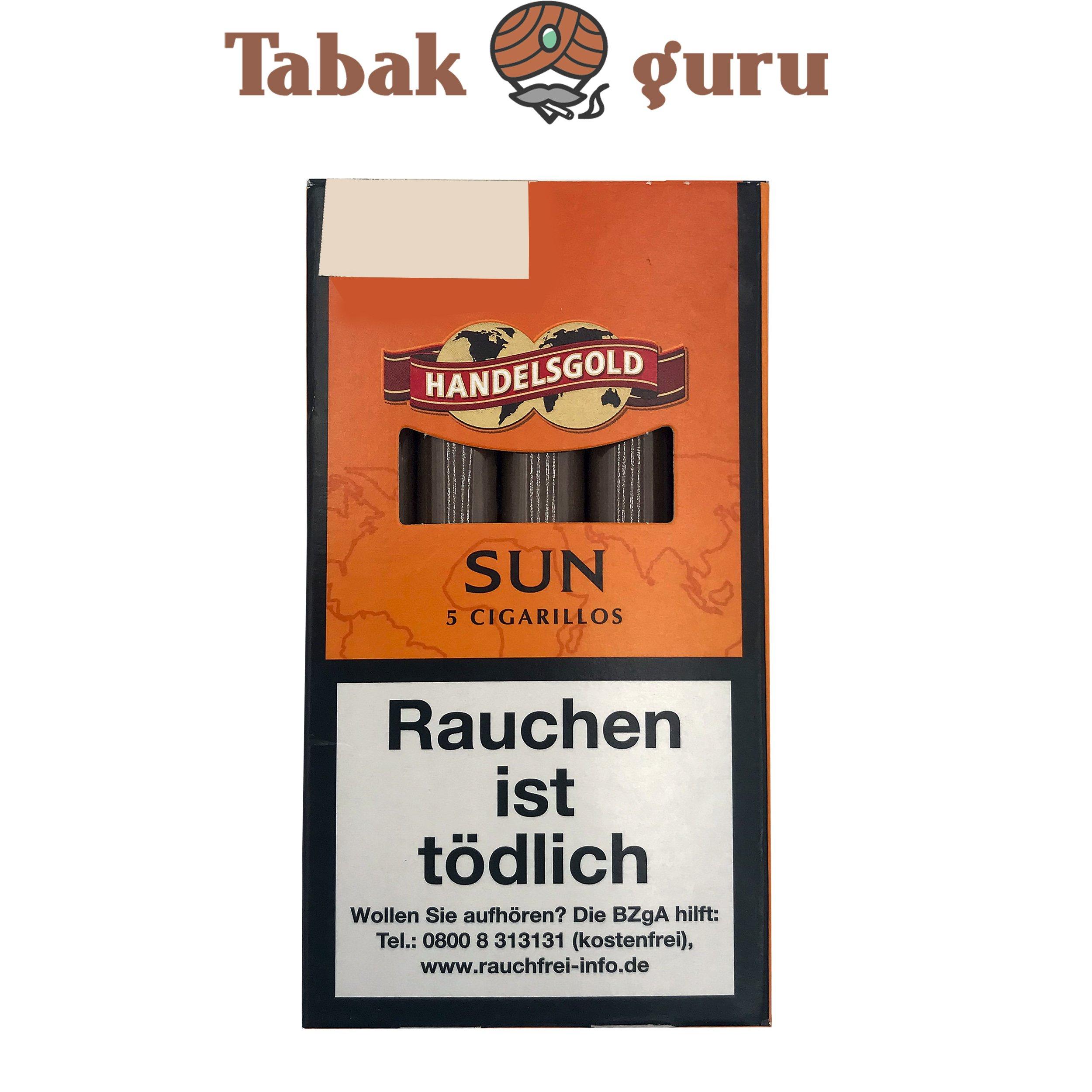 Handelsgold Sun No. 209 Filterzigarillos a 5 Stück