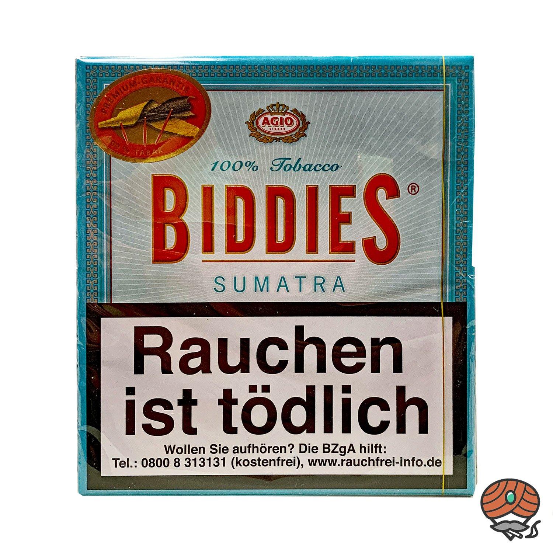 Agio Biddies Sumatra Zigarillos - 20 Stück