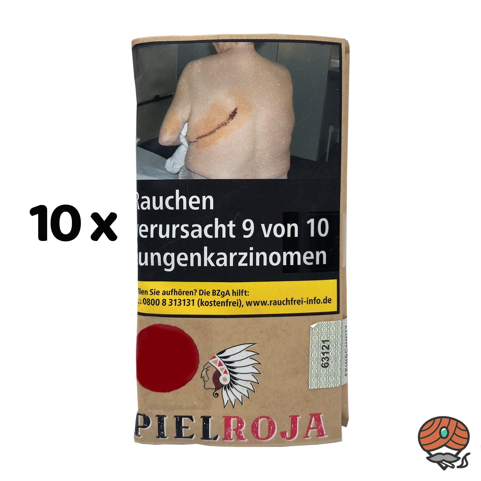 10 x Pielroja Rolling Tabacco 30g Drehtabak Zigarettentabak