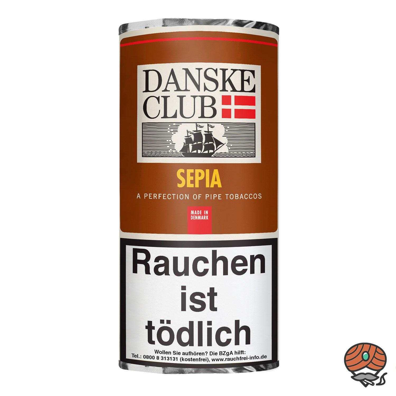 Danske Club Sepia Pfeifentabak 50g Pouch / Beutel