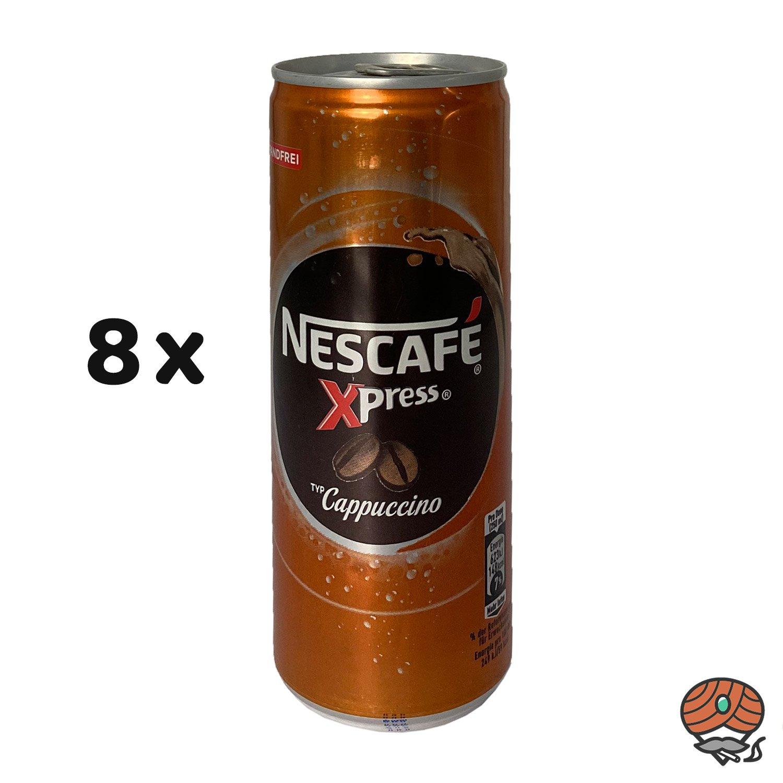 8 x Nescafé Xpress Typ Cappuccino, 250 ml Dose