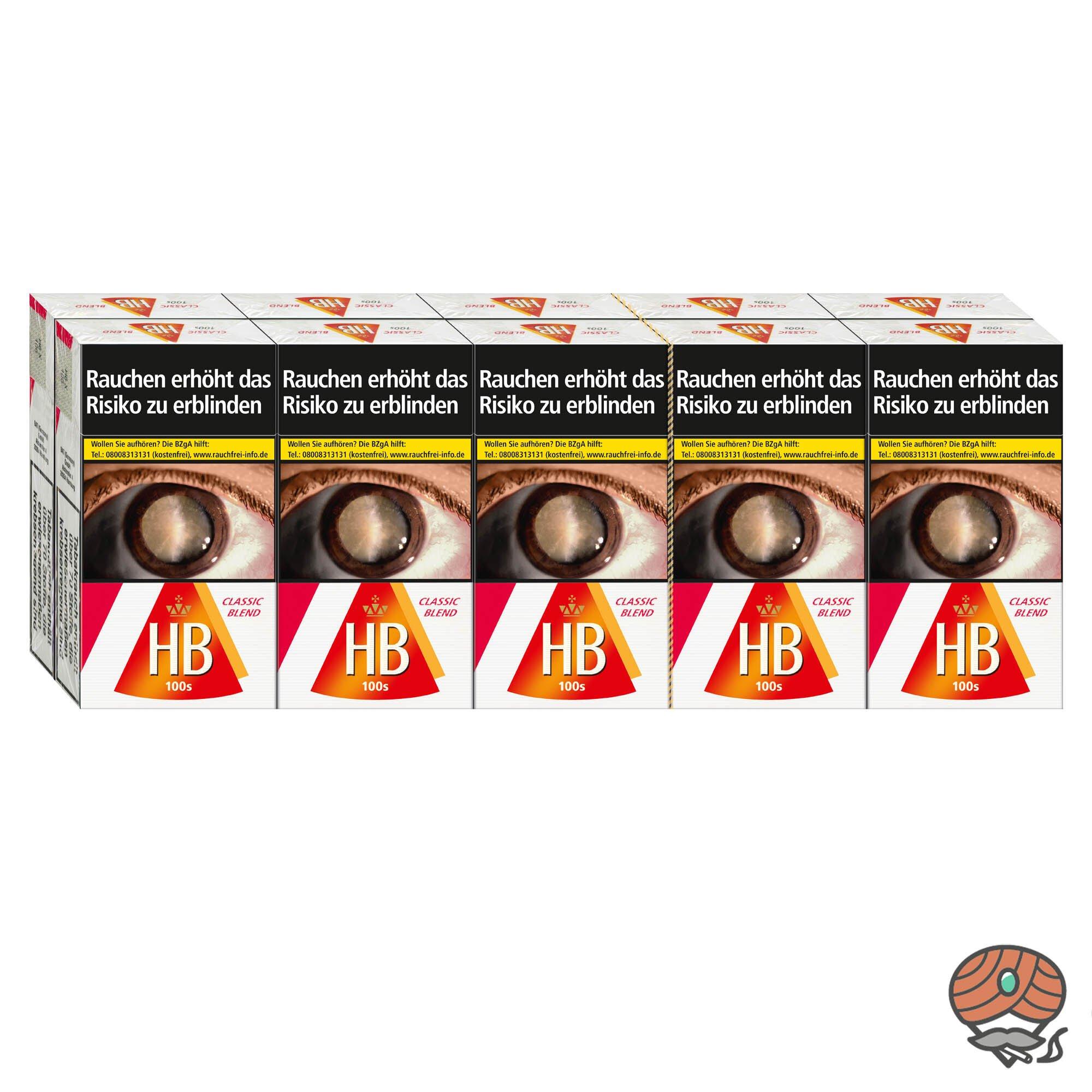 Stange HB Classic Blend 100er Format 10 x 20 Zigaretten