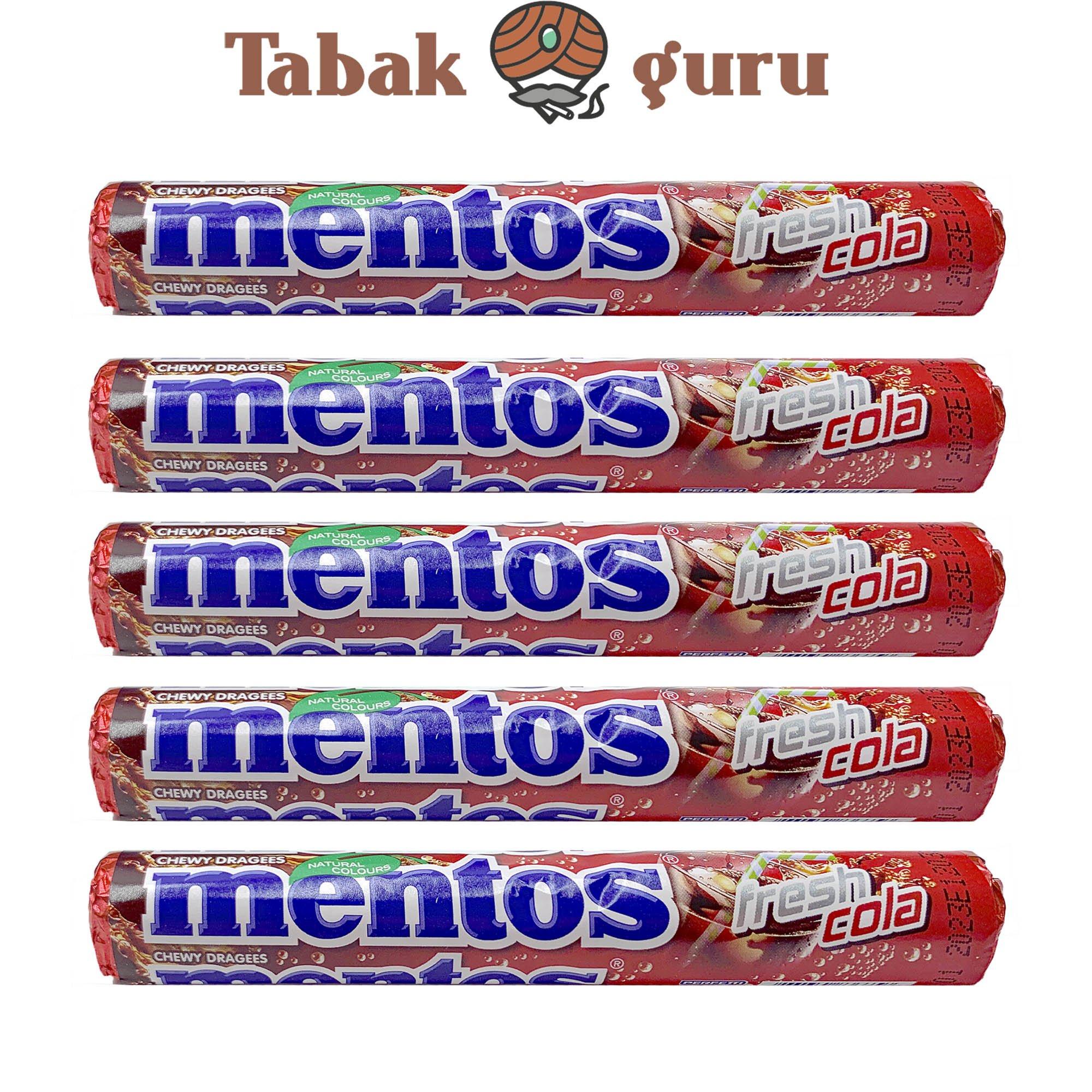 5 Rollen Mentos fresh cola Kaubonbons
