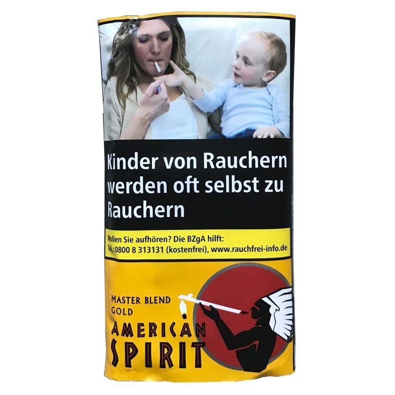 American Spirit Original Master Blend Gold Drehtabak 30 g