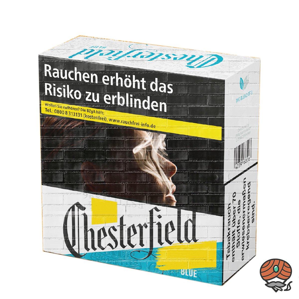 Chesterfield BLUE / BLAU Zigaretten 5XL Schachtel 49 Stück
