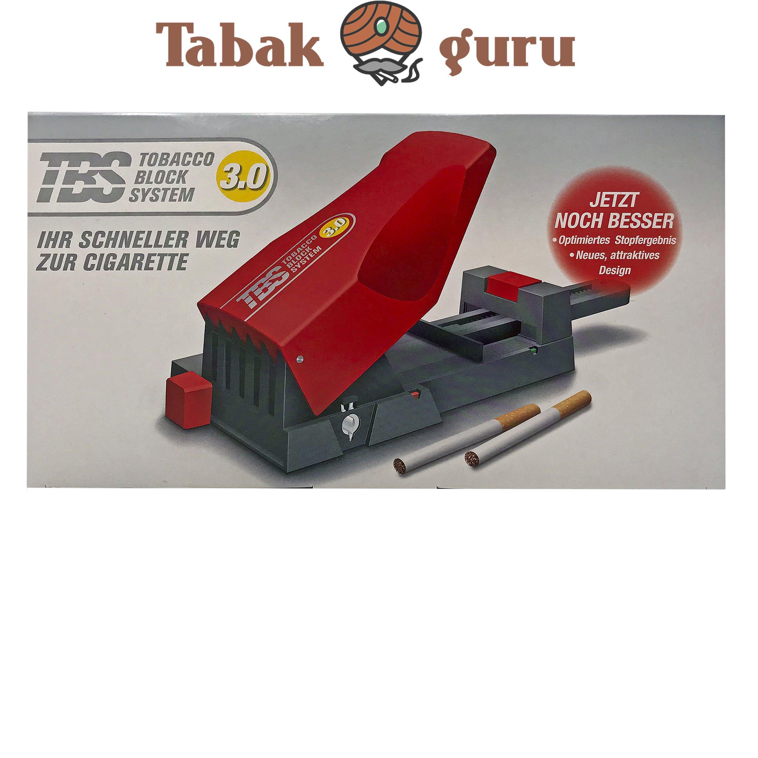 TBS Tobacco Block System 3.0 Stopfmaschine Stopfer