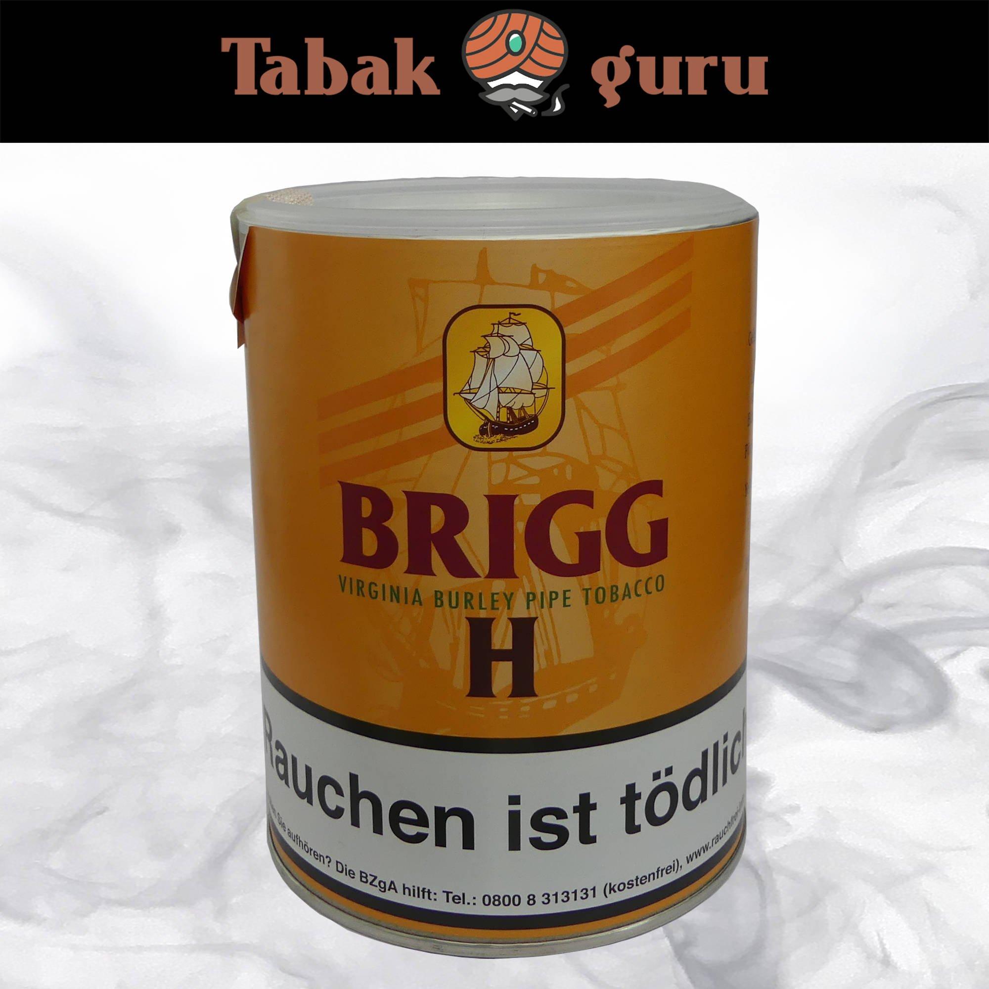 Brigg H (Honigmelone) 180 g Dose Pfeifentabak