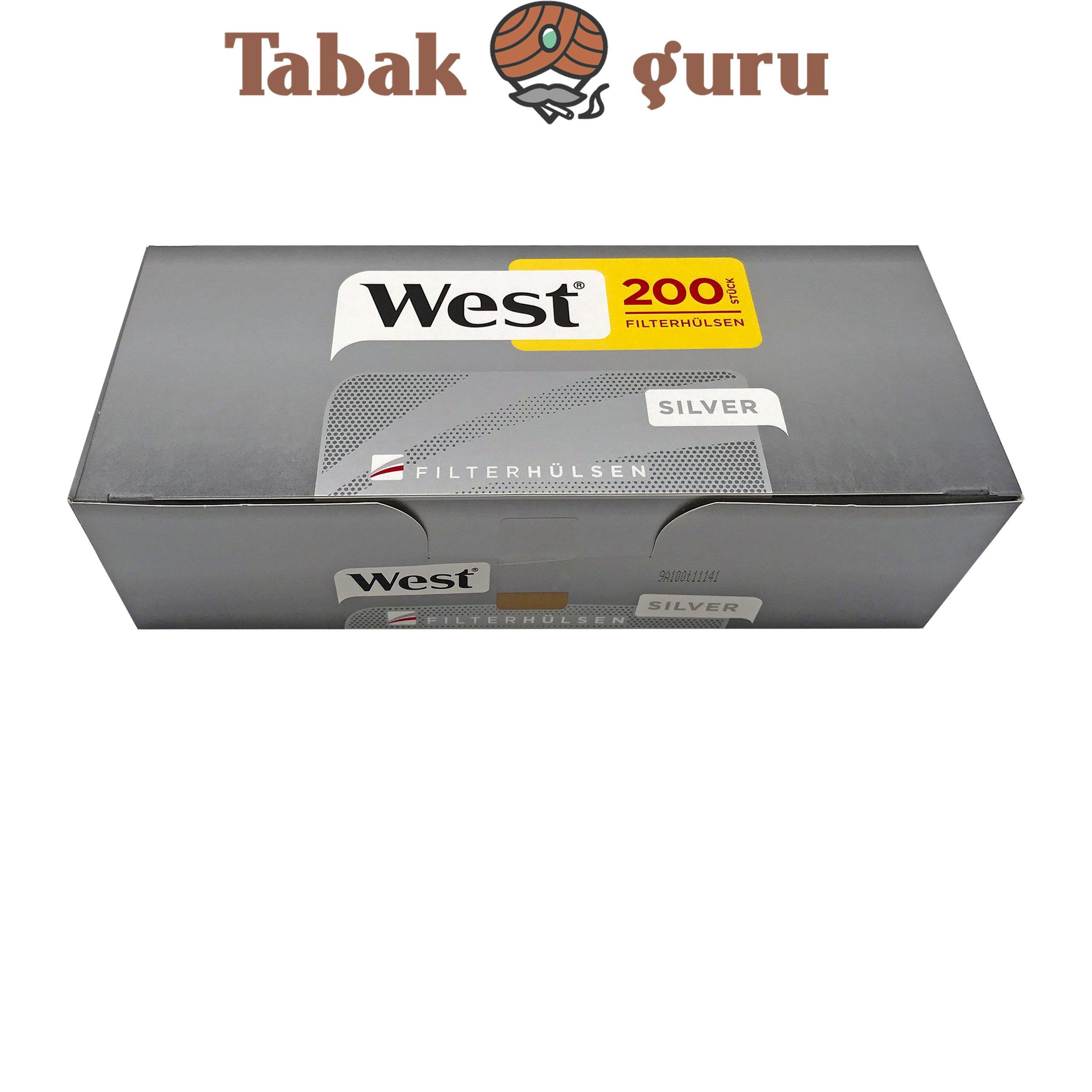 West Silver Filterhülsen