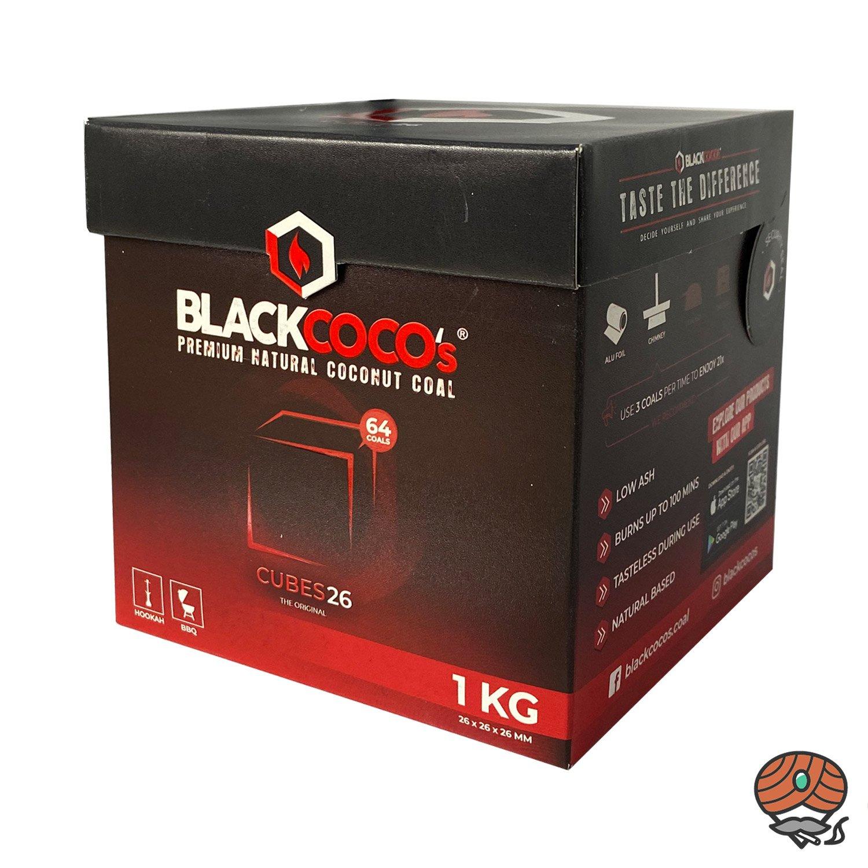Blackcoco´s Shishakohle, Cubes 26, Box, 1 kg