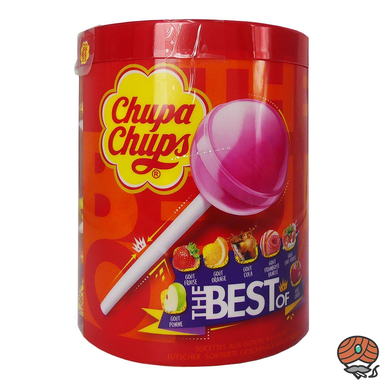 Chupa Chups The Best Of Lutscher 50 Stück 600 g