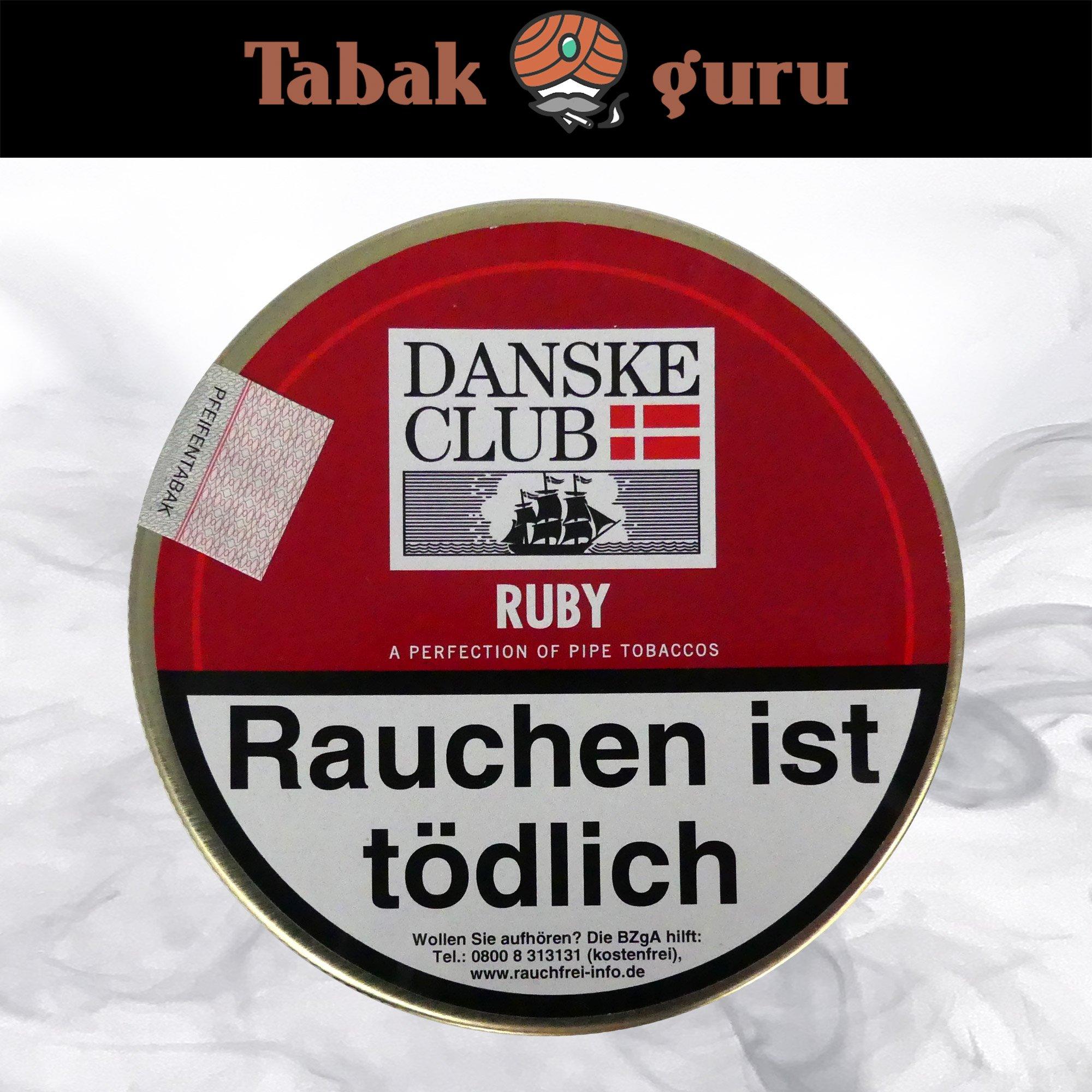 Danske Club Ruby Pfeifentabak 100g Dose