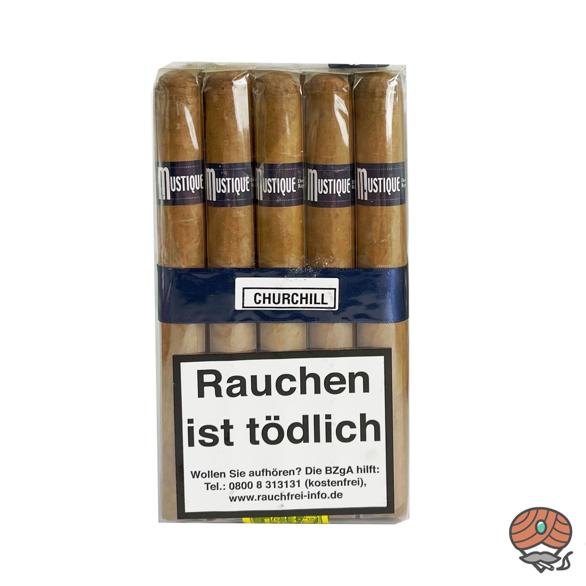 Mustique Blue Churchill Zigarren 10er Bundle