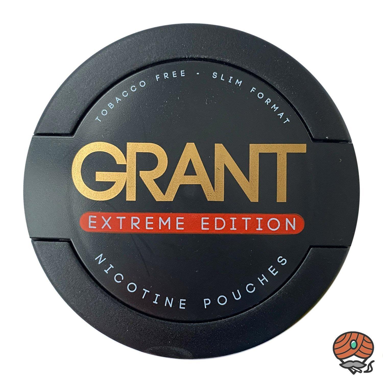 GRANT EXTREME EDITION Kautabak / Nicotine Pouches Slim Format Stärke 4