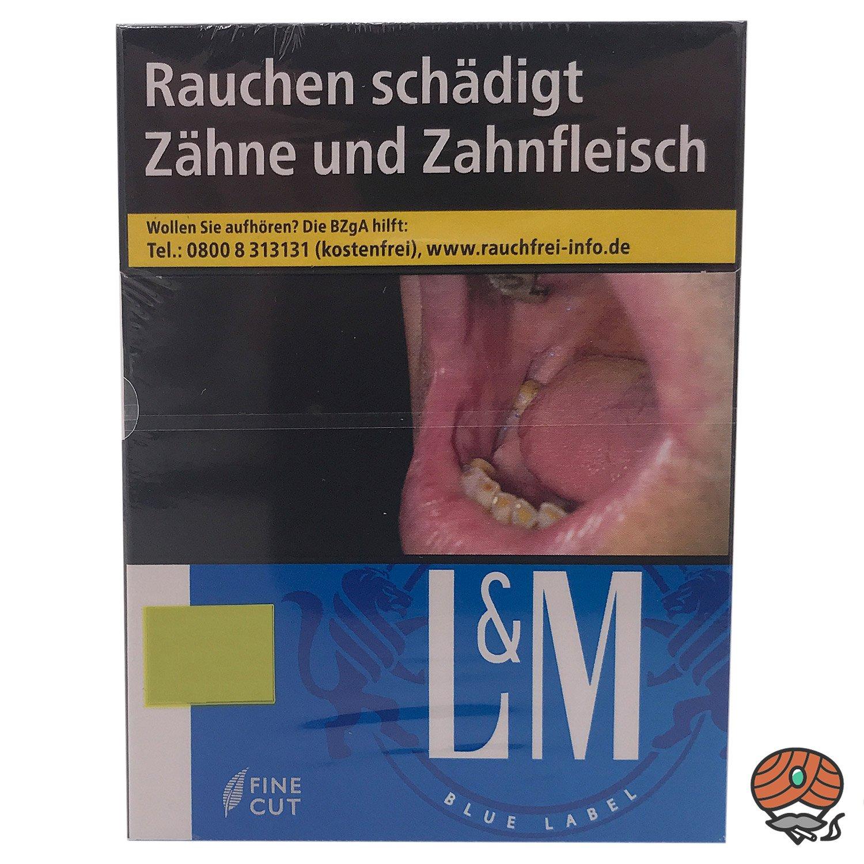 L&M Blue Label XL Zigaretten Inhalt 21 Stück