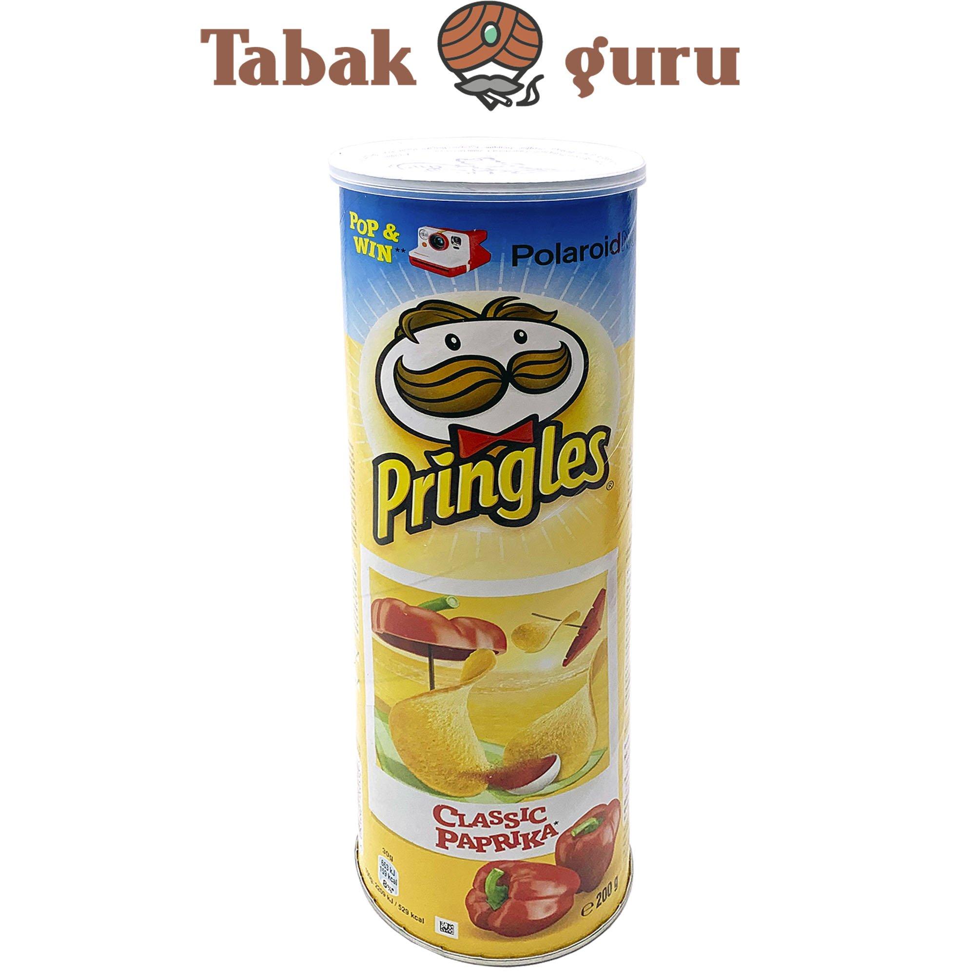 Pringles Classic Paprika 200g Dose