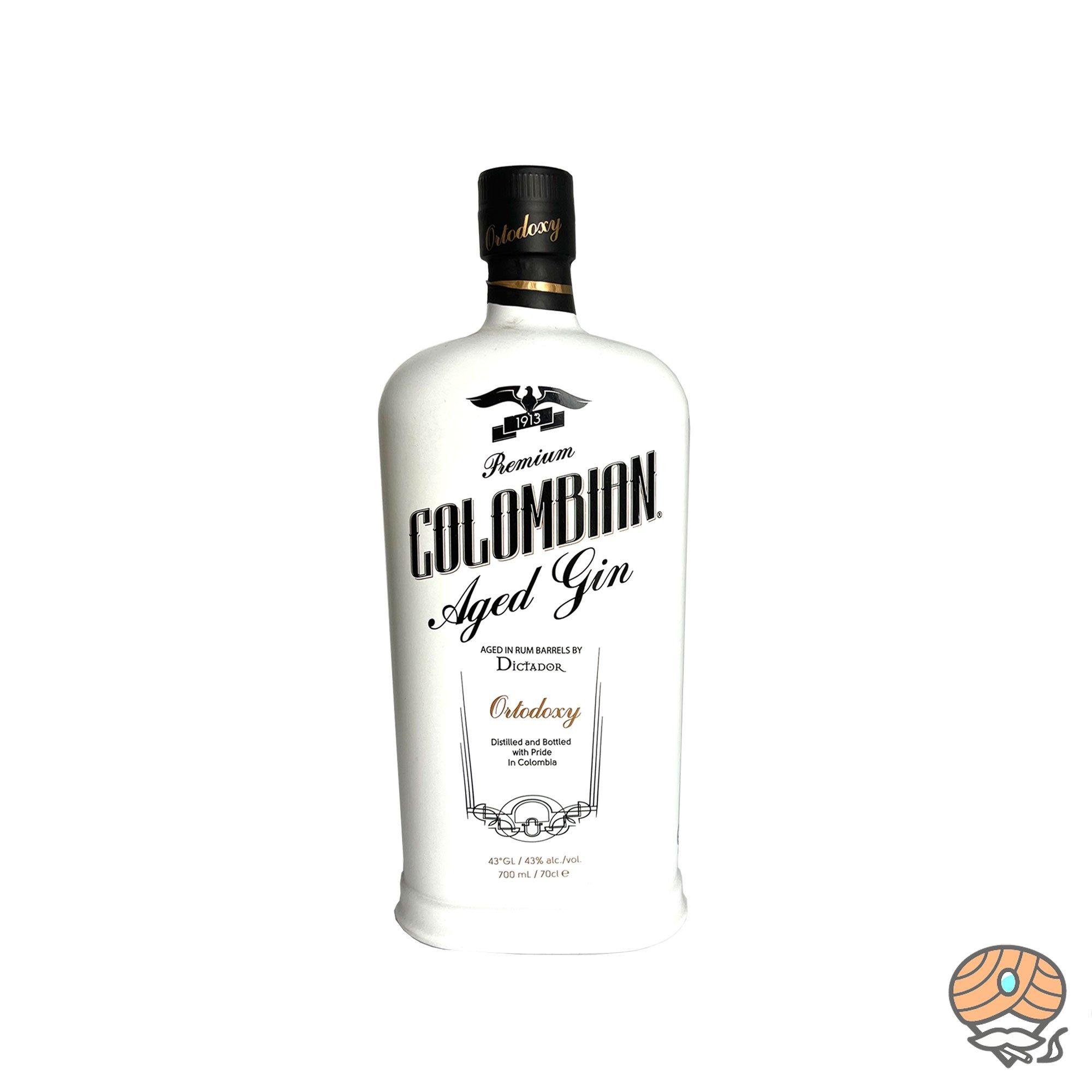 Premium Colombian Aged Gin Ortodoxy 0,7l, alc. 43 Vol.-% aus Kolumbien