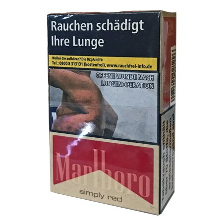 Marlboro Simply Red Zigaretten