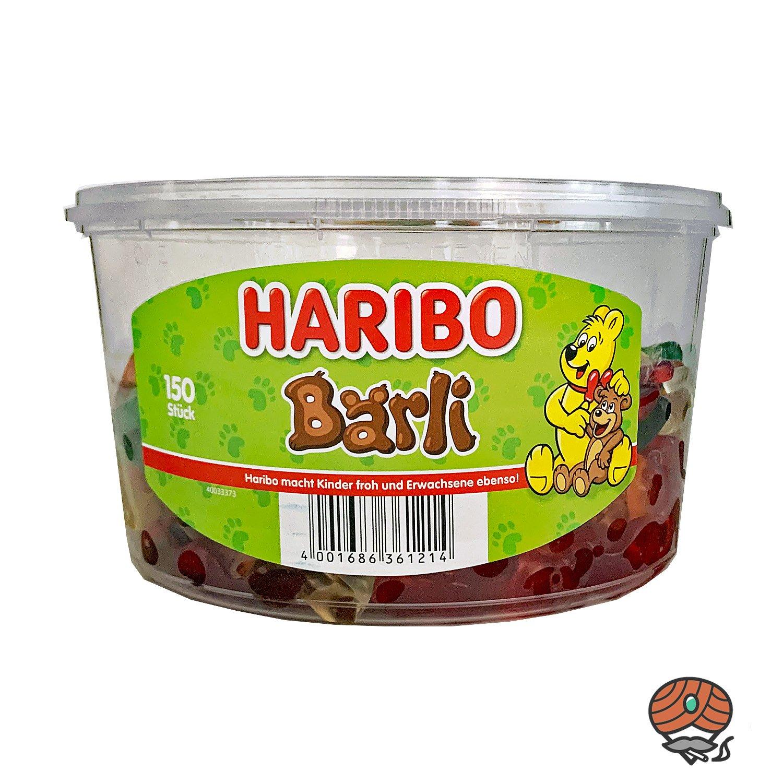 Haribo Bärli Dose 150 Stück / 1200g