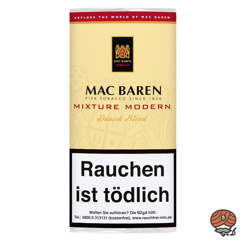 Mac Baren Mixture Modern Danish Blend Pfeifentabak 50g Pouch