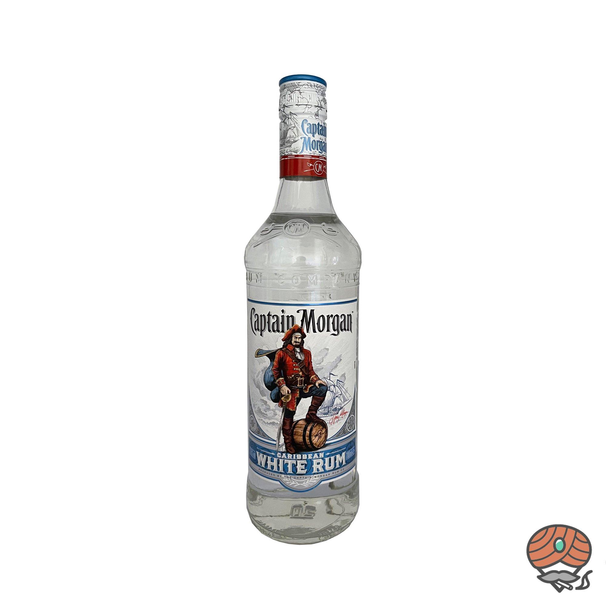 Captain Morgan Caribbean White Rum 0,7 l, alc. 37,5 Vol.-%