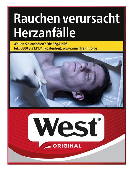 West Red Zigaretten 22 Stück