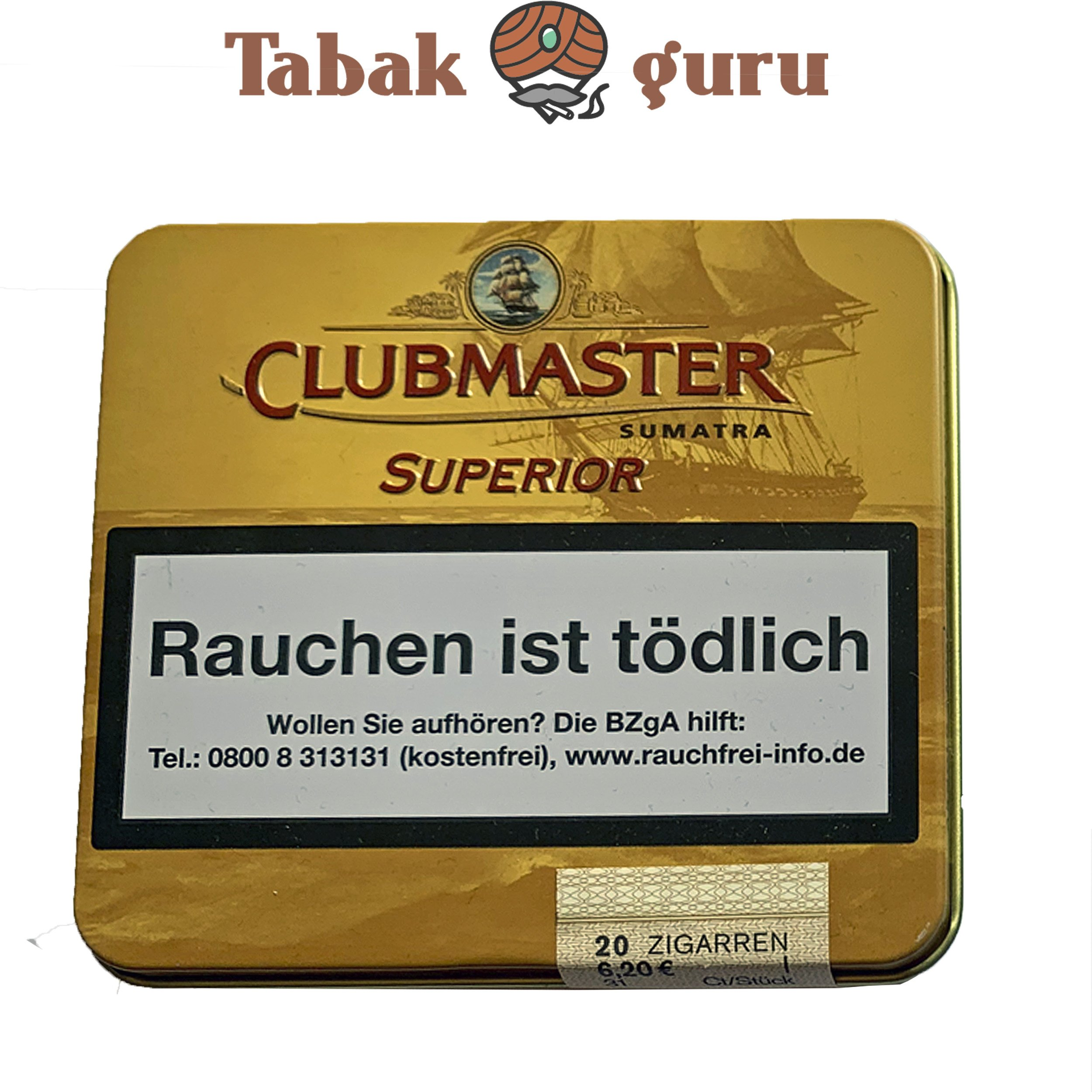 Clubmaster Superior Sumatra Nr 141