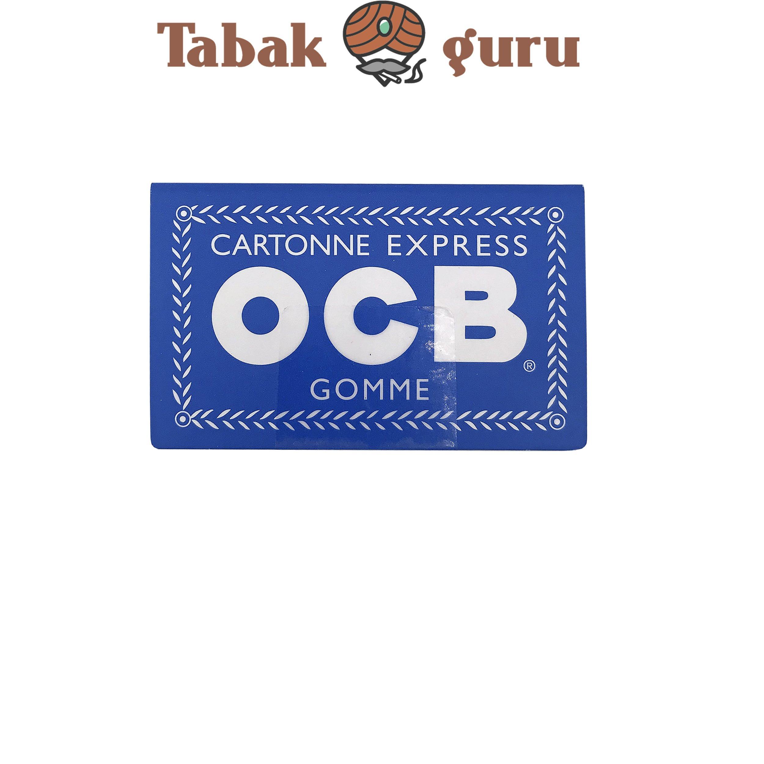 OCB Blau Doppel 1 Heft á 100 Blatt