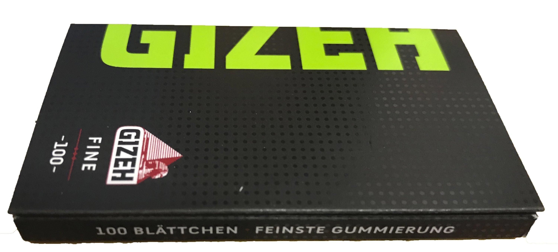 Gizeh Black Fine Zigarettenpapier Magnetverschluss 100 Blatt