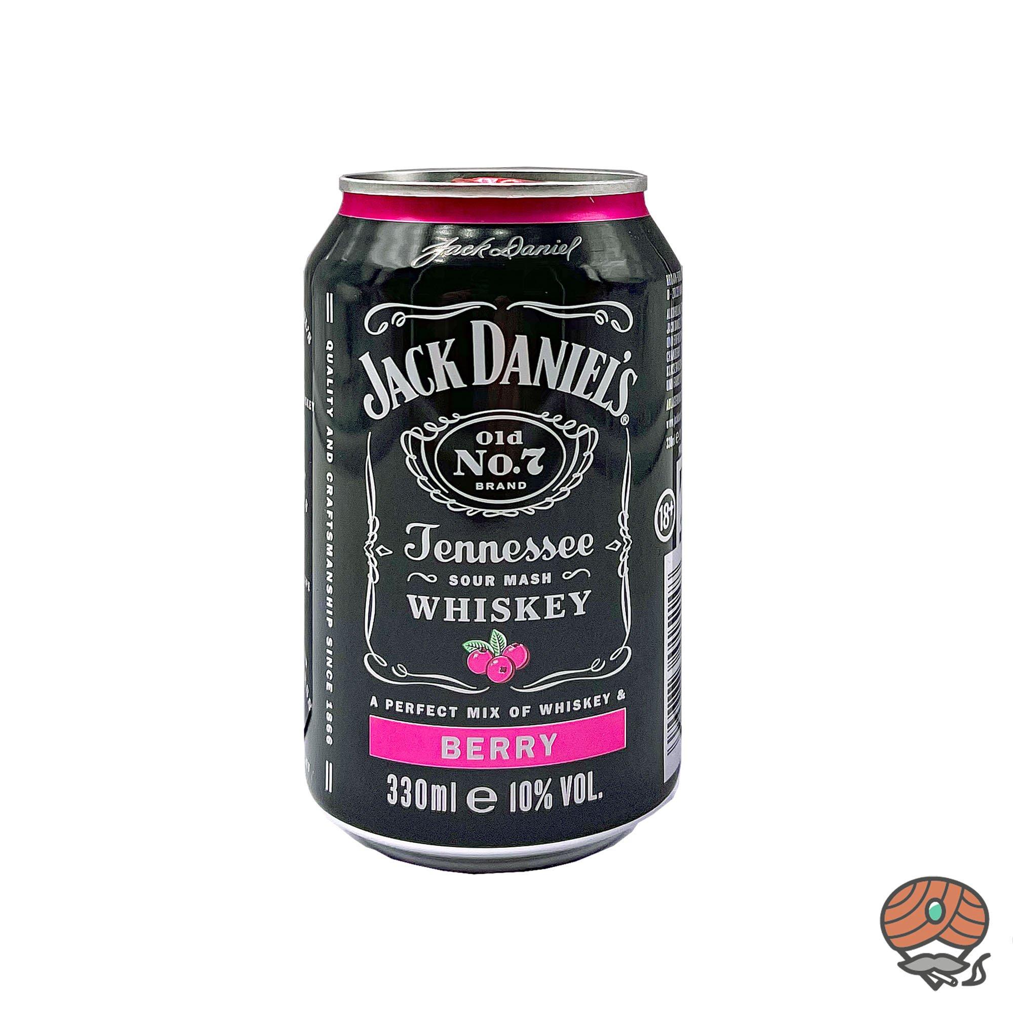 Jack Daniel´s Old No. 7 - Berry Mixgetränk 0,33 l inkl.0,25 Euro Pfand (alc. 10% Vol)