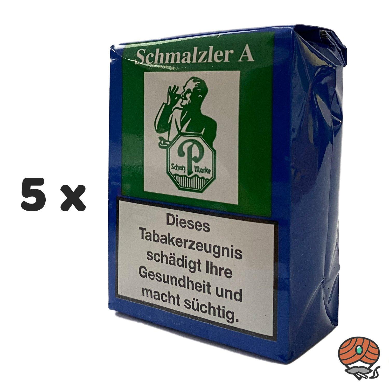 5 x Schmalzler A Schnupftabak 100g von Pöschl