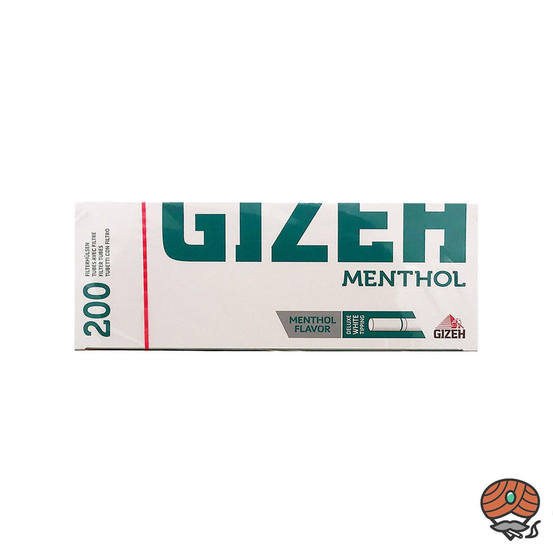 Gizeh Menthol Filterhülsen