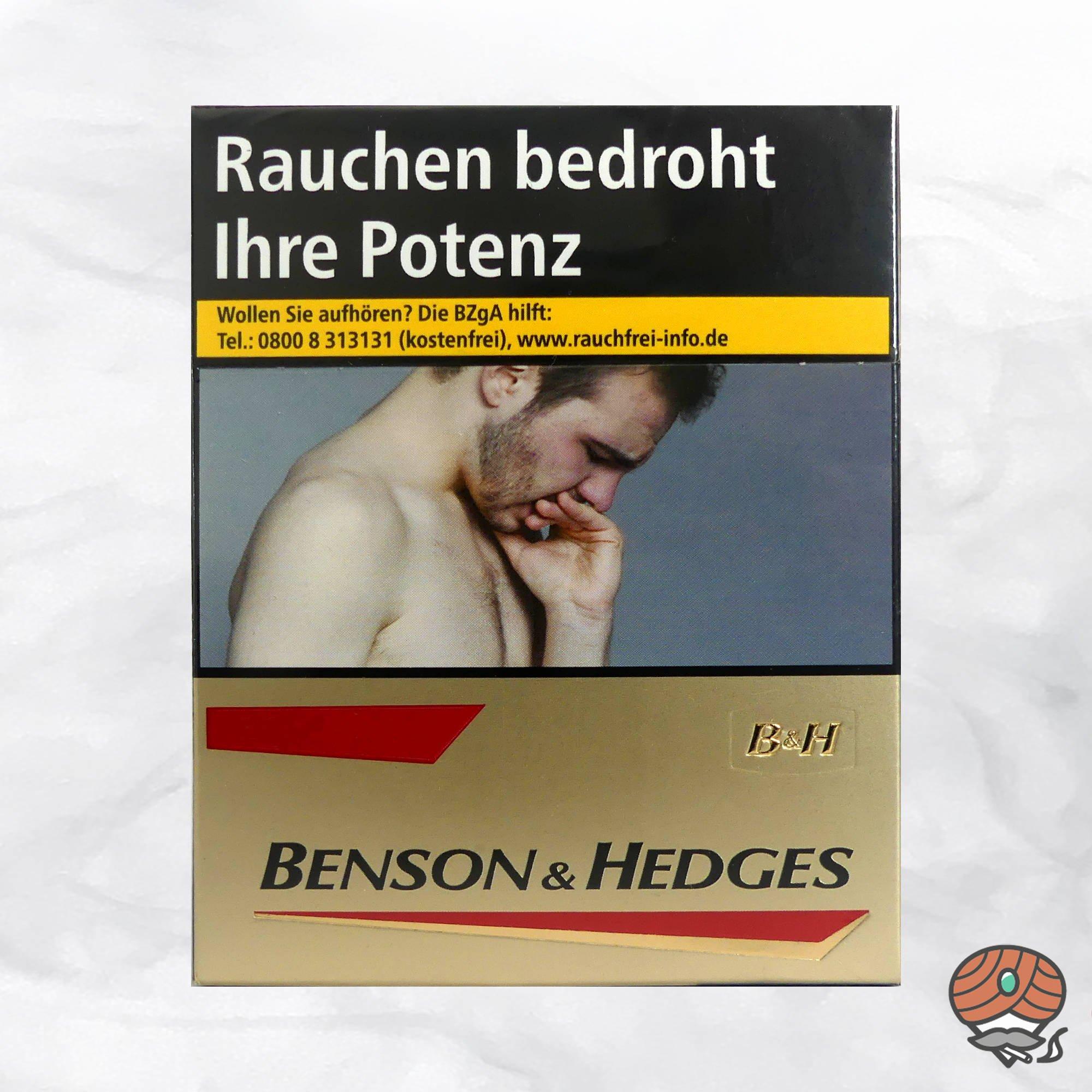 Benson & Hedges Gold Zigaretten XL-Box (23 Stück)