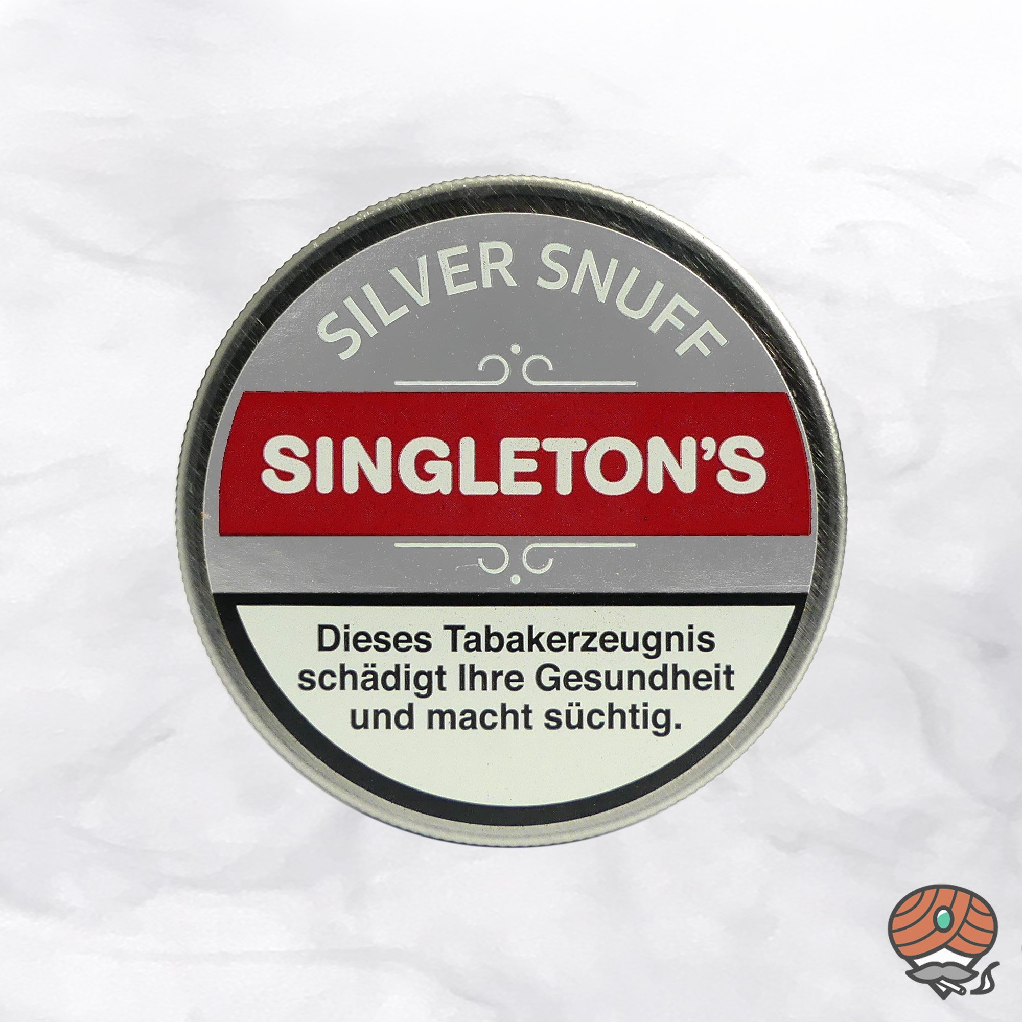 SINGLETON´S Silver Snuff Schnupftabak 6g Dose