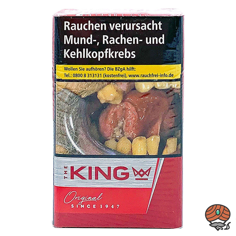 The KING Original Red / Rot Zigaretten 20 Stück