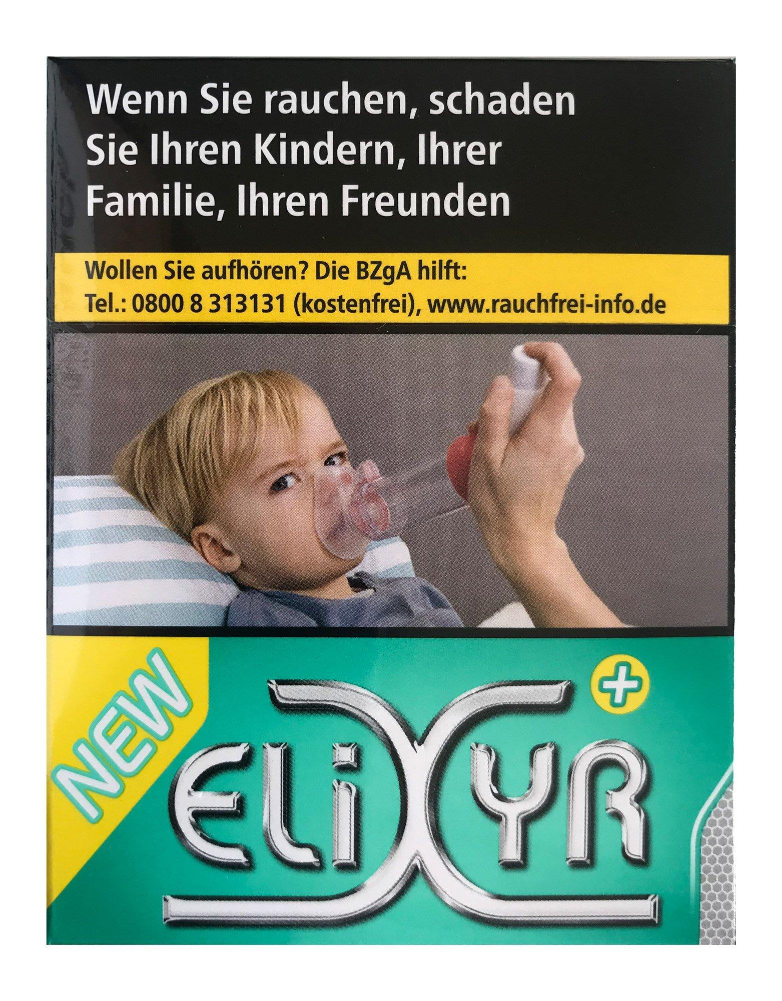 Elixyr Plus Zigaretten 23 Stück