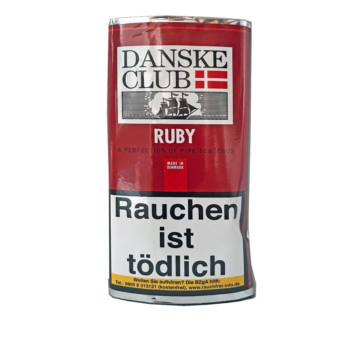 Danske Club Ruby Pfeifentabak 50g Pouch