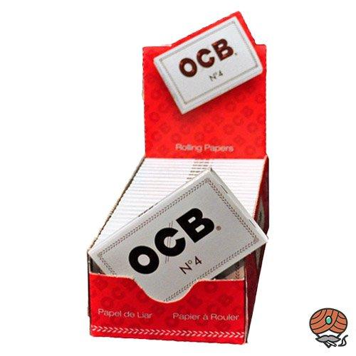 25 x OCB weiß kurz Nr 4 Blättchen / Papers à 100 Blättchen