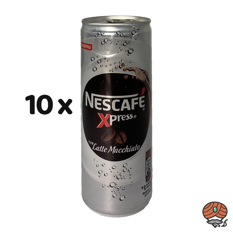 10 x Nescafé Xpress Typ Latte Macchiato, 250 ml Dose