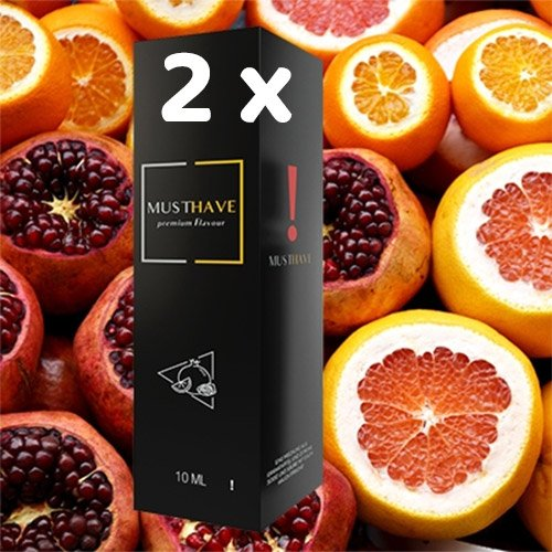 2 x MUSTHAVE ! 10 ml Aroma + Leerflasche, Longfill
