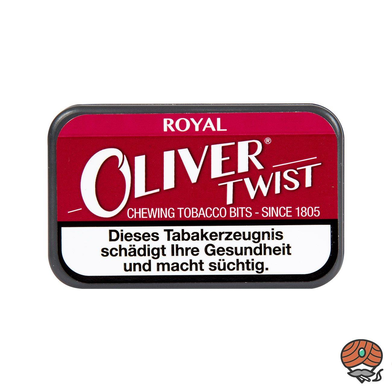 Oliver Twist ROYAL Tabakpastillen, Kautabak, Chewing Bits