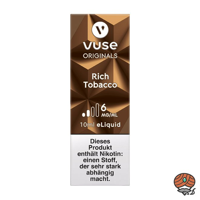 Vuse eLiquid Bottle Rich Tobacco 6 mg/ml (ehem. Vype Aromatic Tobacco)